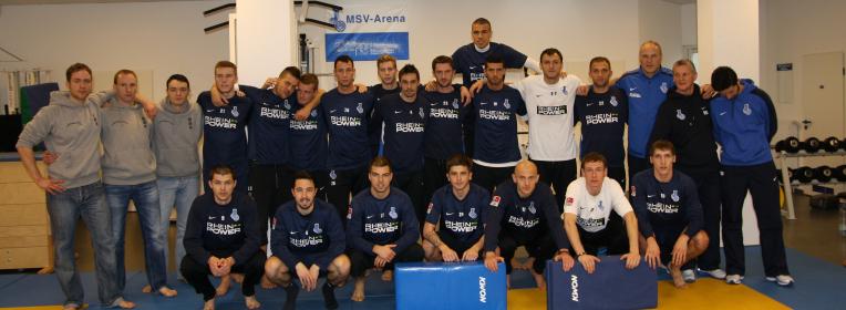 Training für den MSV Duisburg